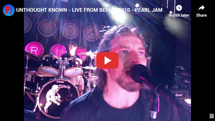 #24 - Unthought Known - Top Pearl Jam Songs