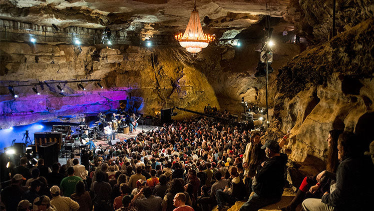 #25 - Cumberland Caverns McMinnville, TN - Top Music Venues in US
