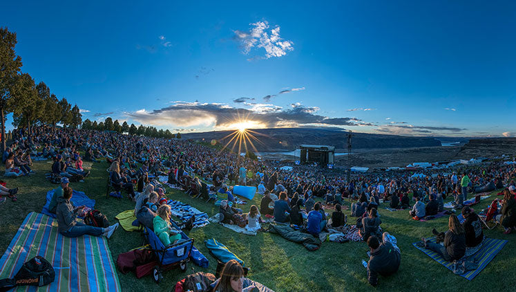 #2 - Gorge Amphitheatre George, WA - Top Outdoor Music Venues in US