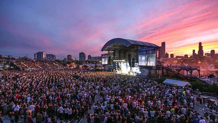 #20 - Huntington Bank Pavilion At Northerly Island - Chicago, IL - Top Concert Venues