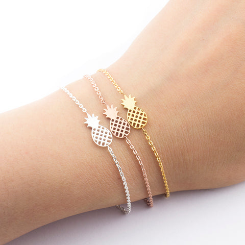Pineapple Chain Bracelet - Endless Tube Surf Shop