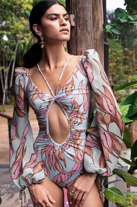 Traje baño / Body Tropical