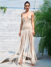 Load image into Gallery viewer, Vestido Tassel Nights