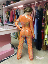 Load image into Gallery viewer, Jumpsuit Tangerine