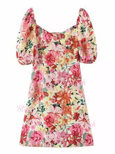 Load image into Gallery viewer, Vestido Nima Floral