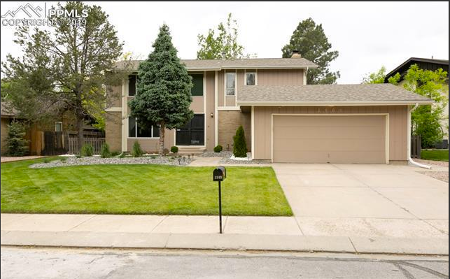 Under Contract - 3909 South Midsummer Lane, Colorado Springs 80917