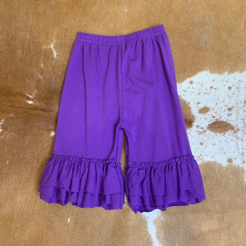 Kid Purple Ruffle