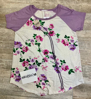 Spring fever purple shirt