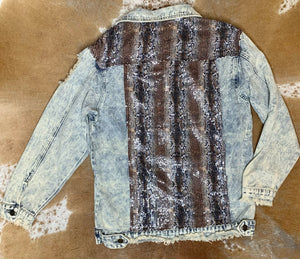 Snake Denim Jacket