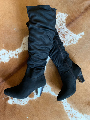 Midnight Black Boots
