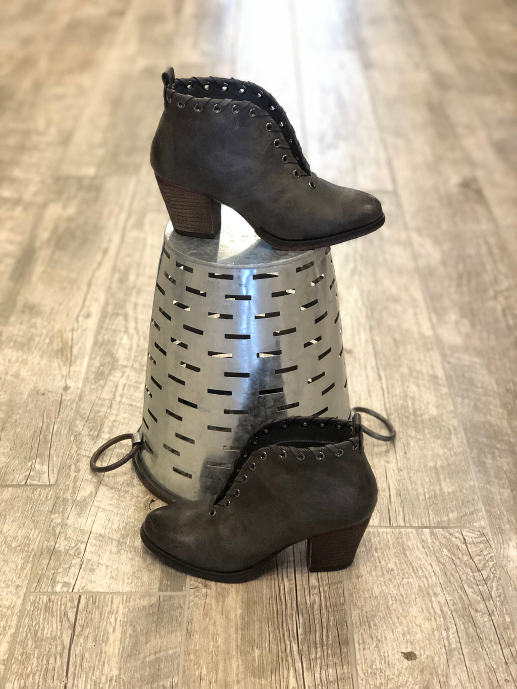 Lace em' Up Booties