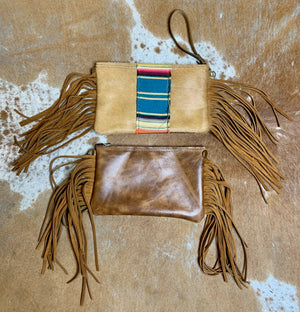 Serape Patch Handbag