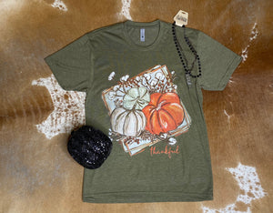 Thankful Pumpkin T-shirt