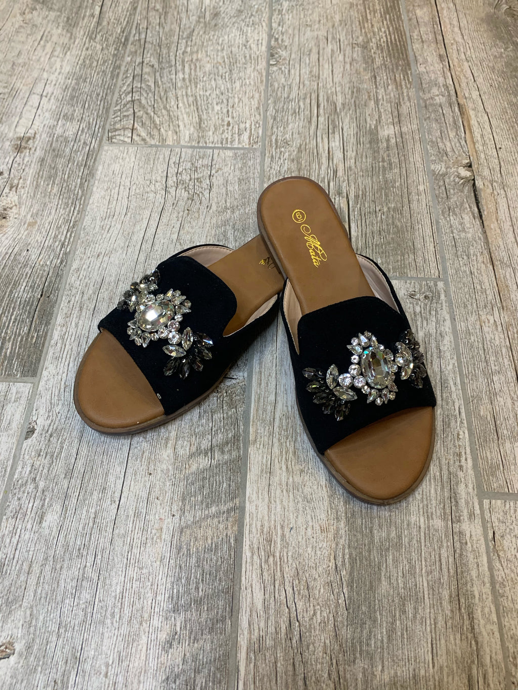 Midnight Pearl Sandals