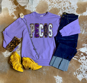 Hand Stitched Pecos Sweater