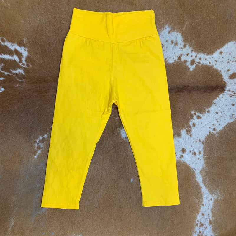 Yellow Kid Jeggings
