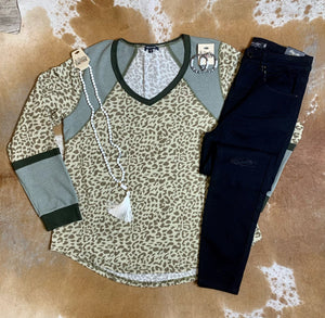Leopard and Olive Plus