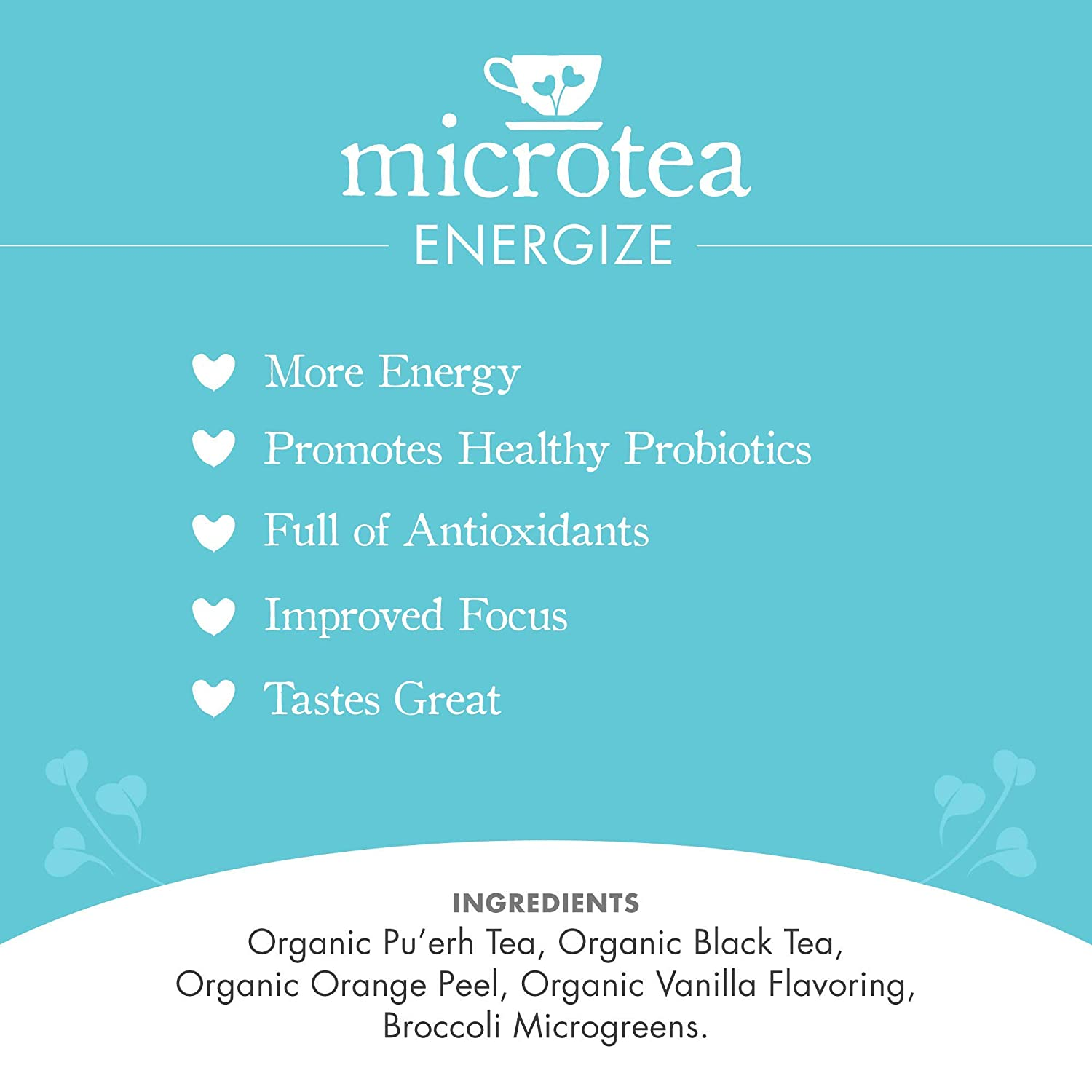 Energize - Tea (Caffeinated)