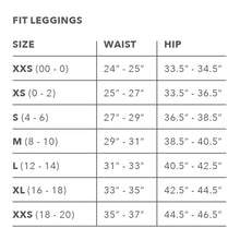 Load image into Gallery viewer, Basic Black Classic Fit Leggings