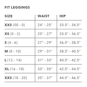 Woven Texture Classic Fit Leggings