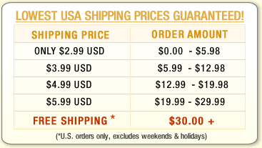 Lowest Shipping Prices Guaranteed!
