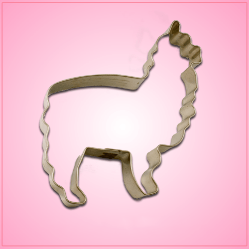 Mini Alpaca Cookie Cutter