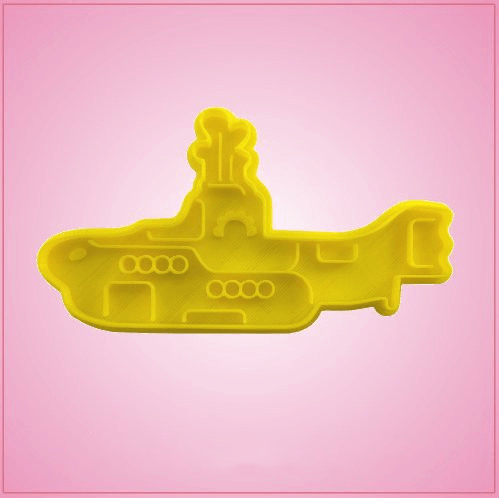 Beatles Yellow Submarine Cookie Cutter