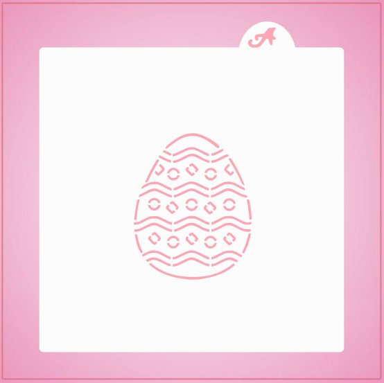 Bright Easter Egg PYO Stencil