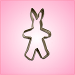 Bunny Suit Cookie Cutter
