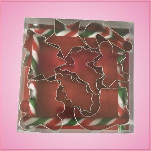 Christmas Cookie Cutter Set (8 piece)