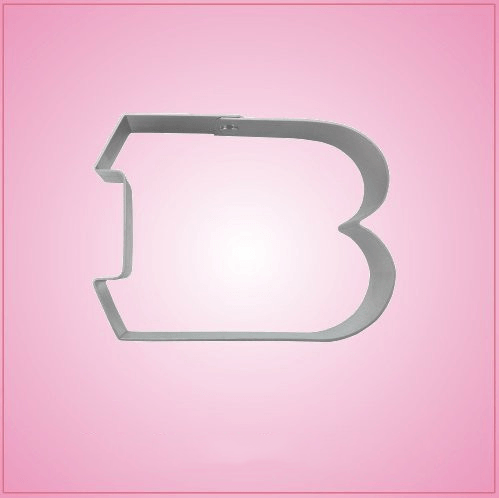 Cincinnati Letter B Cookie Cutter