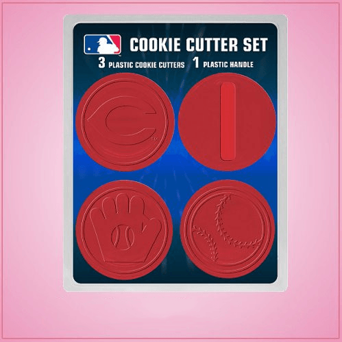 Cincinnati Reds Cookie Cutter Set