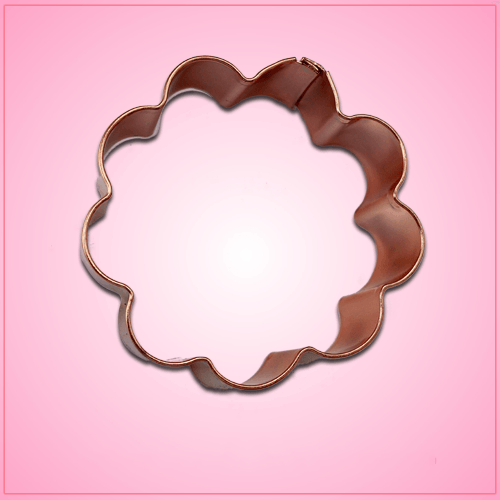 Copper Daisy Cookie Cutter