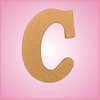 Cursive Letter C Cookie Cutter
