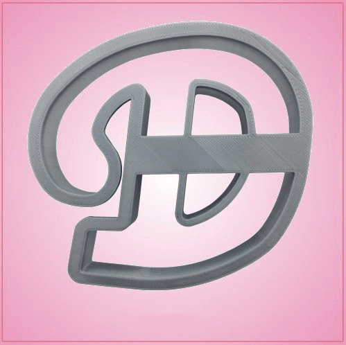 Cursive Letter D Cookie Cutter