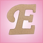 Cursive Letter E Cookie Cutter