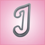 Cursive Letter J Cookie Cutter