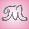 Cursive Letter M Cookie Cutter
