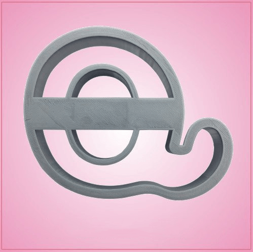 Cursive Letter Q Cookie Cutter