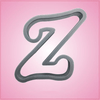 Cursive Letter Z Cookie Cutter