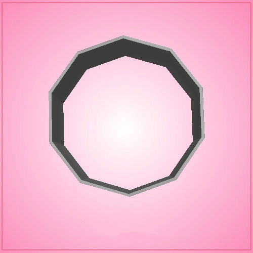 Decagon Cookie Cutter