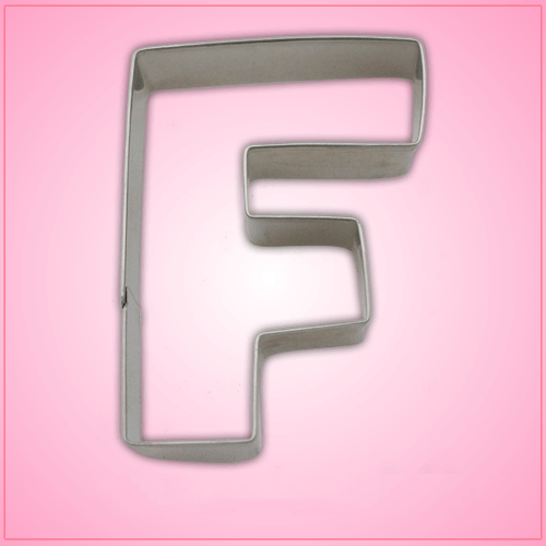 Letter F Cookie Cutter