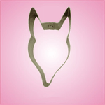 Fox Head Cookie Cutter