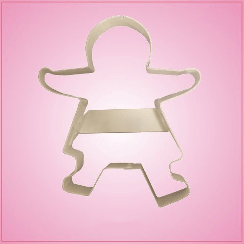 Giant Gingerbread Woman Cookie Cutter