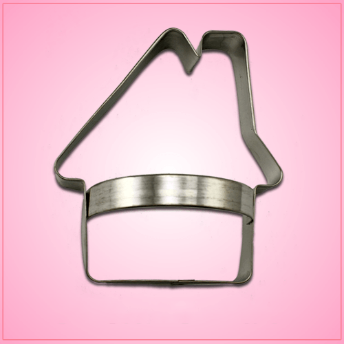 Gingerbread House Cookie Cutter with Handle