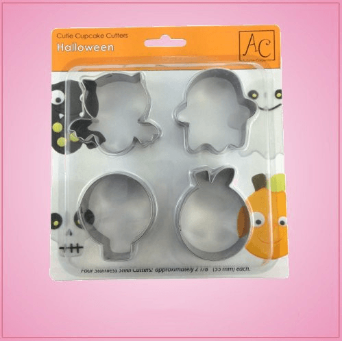 Halloween 4 Piece Cookie Cutter Set