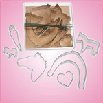Horse Cookie Cutter Set