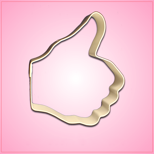 Large Thumbs Up Cookie Cutter