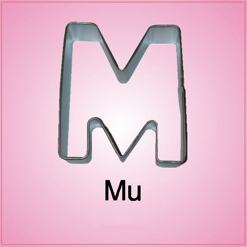 Mu Cookie Cutter