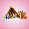Nativity 17 Piece Cookie Cutter Bake Set